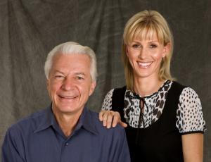 Dr. Fischer y su hija, la Dra. Jaleena Jessop, hoy.
