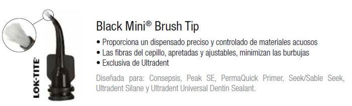black mini brush